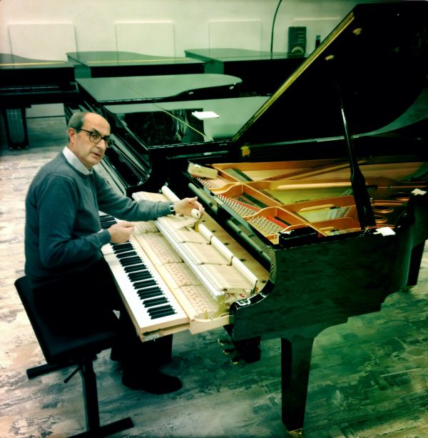 Gian Piero Terravazzi, piano product specialist - Yamaha Music Club