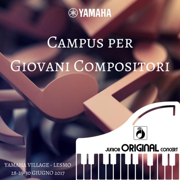 Campus per giovani compositori Yamaha - Yamaha Music Club