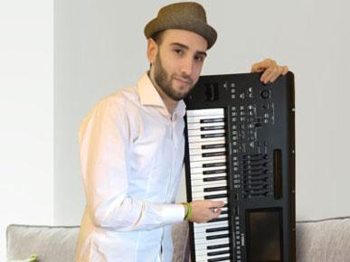 Giuseppe Santelli e il suo album Kaleido - Yamaha Music Club