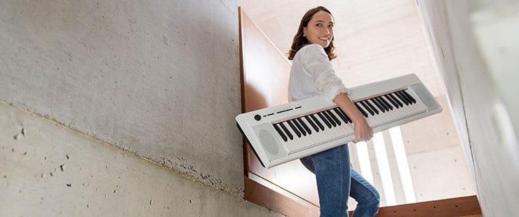 Piaggero Yamaha: il pianoforte leggero - Yamaha Music Club
