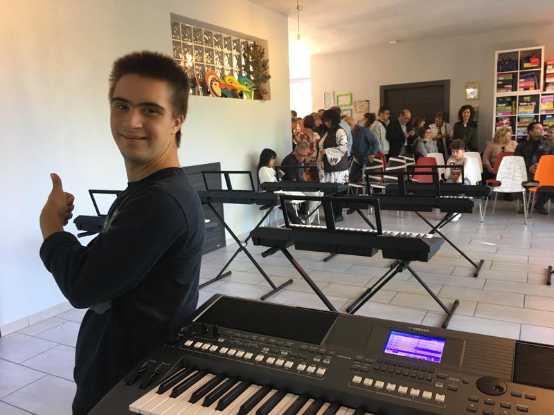 La musica è un dono speciale per tutti - Yamaha Music Club