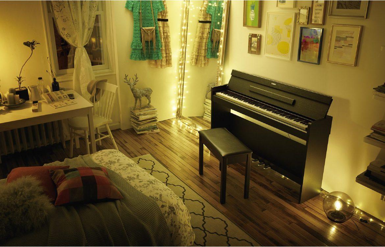 Un nuovo pianoforte digitale slim per la serie Arius - Yamaha music club