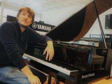 Matthieu Mantanus al pianoforte