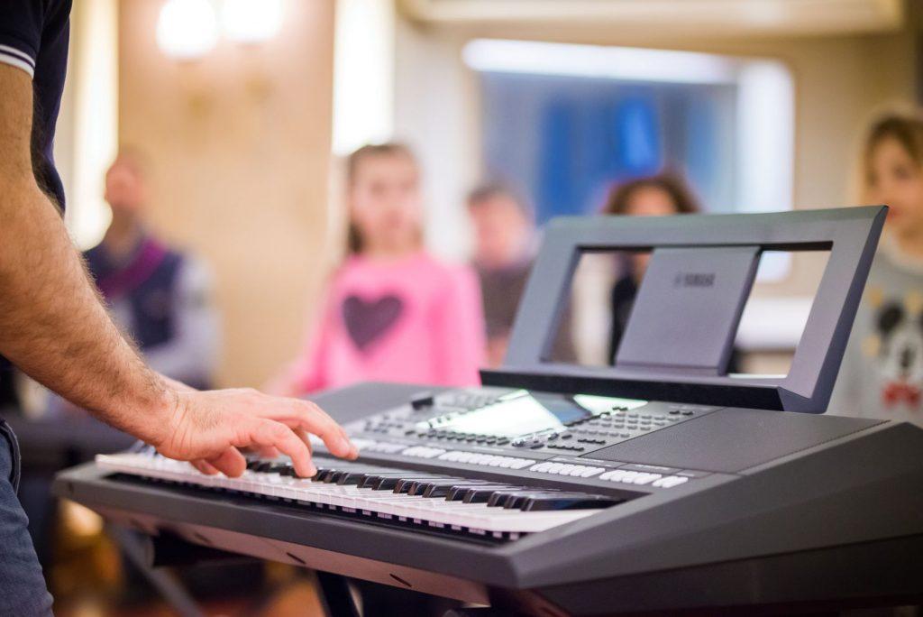 strumento tastiera per laboratori