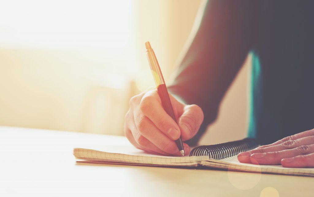 prendere appunti per migliorare lo studio