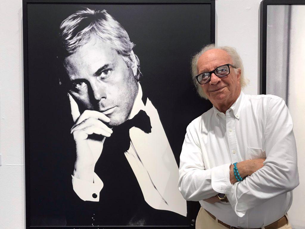 Bob Krieger e Giorgio Armani
