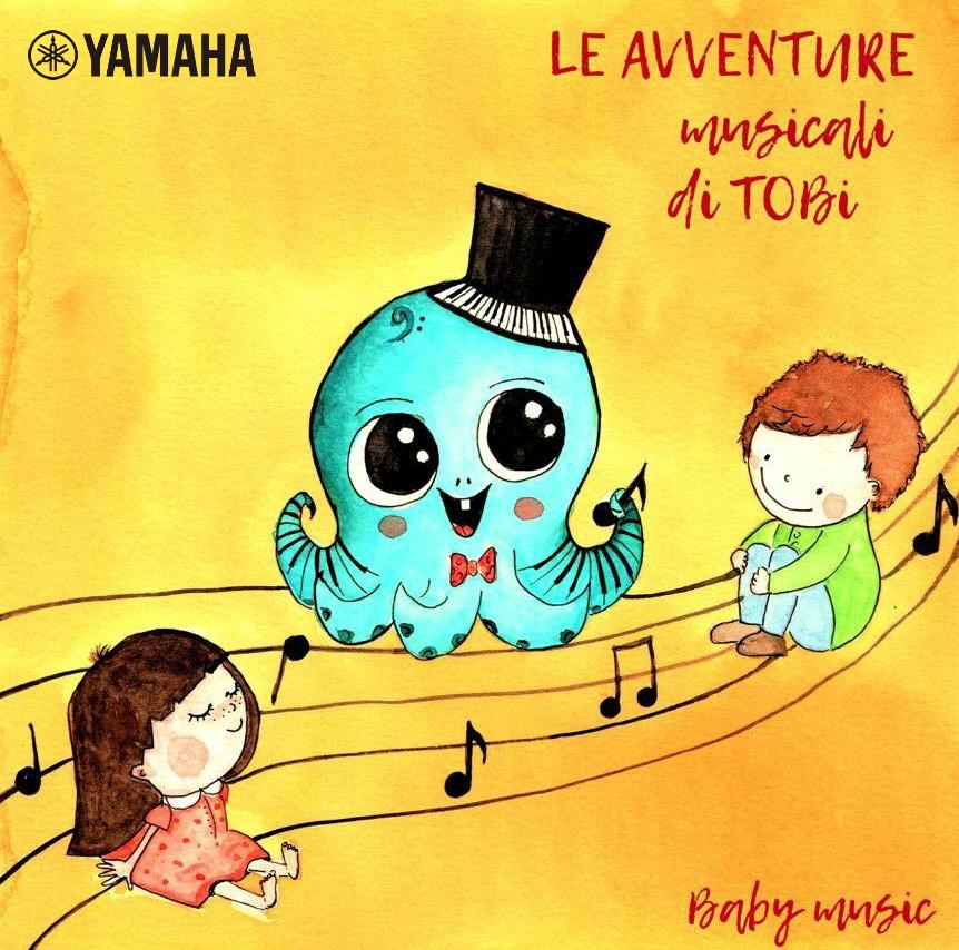 Educazione musicale Yamaha libro Tobi