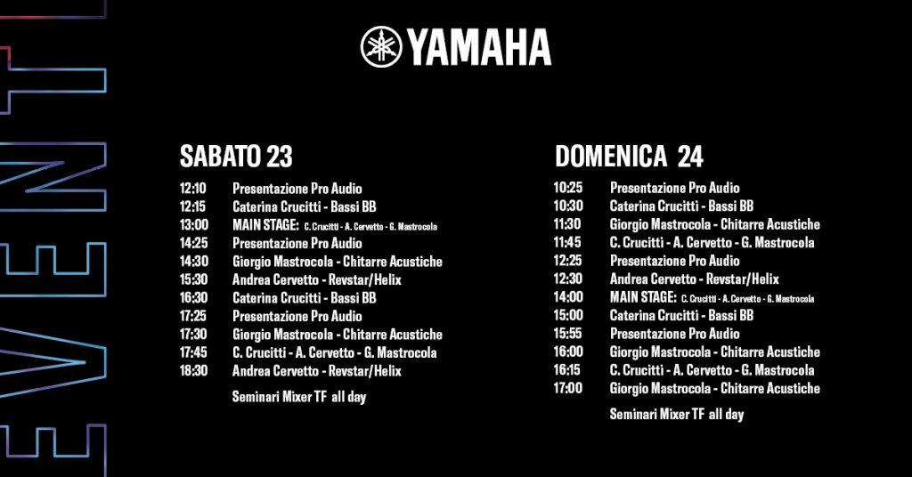 Calendario Milano Music Show