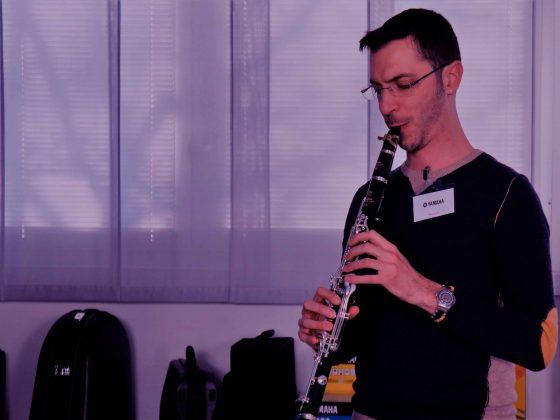 Lezioni di clarinetto con Vincenzo Topputi
