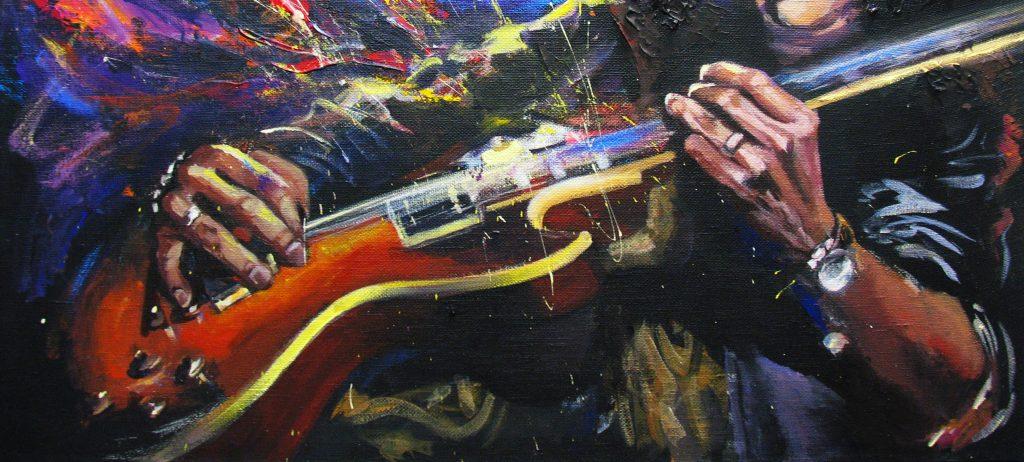 guitar in sultan of swing