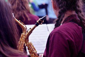 I passaggi da seguire per montare il saxofono